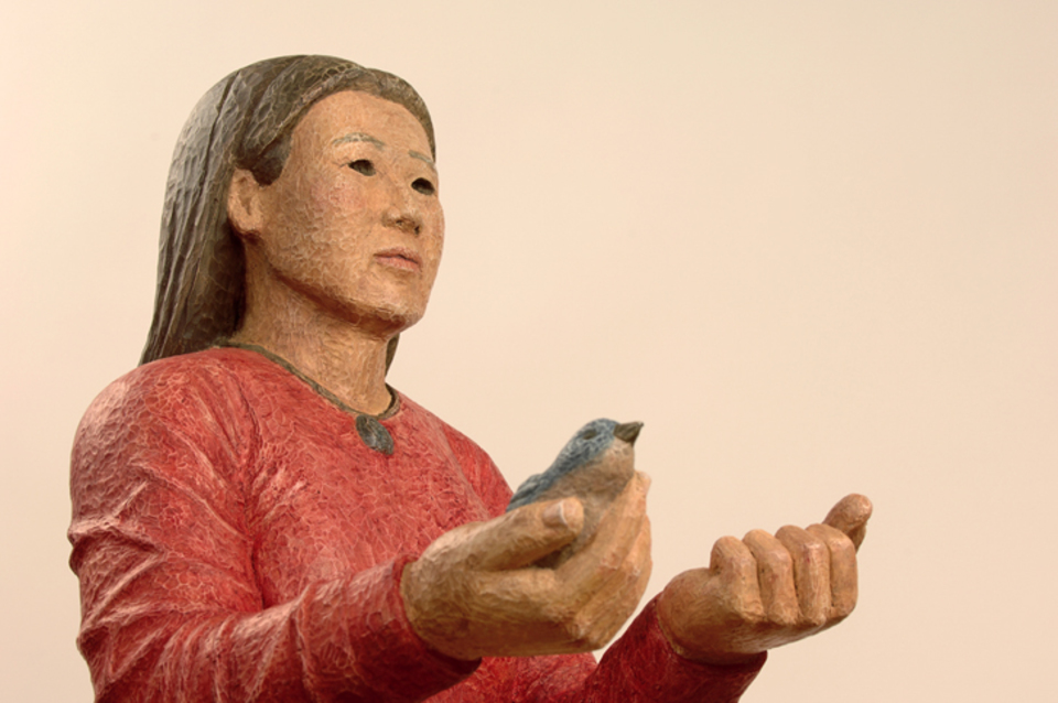 Bird in Hand detail