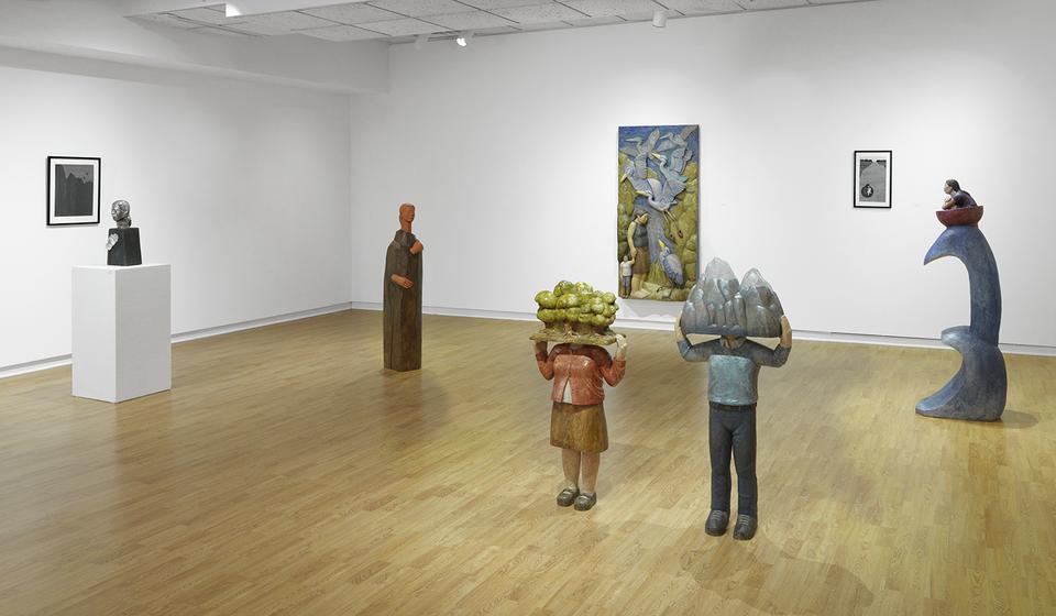 Untold Stories Installation Shot, Nesto Gallery, Milton, MA, 2016